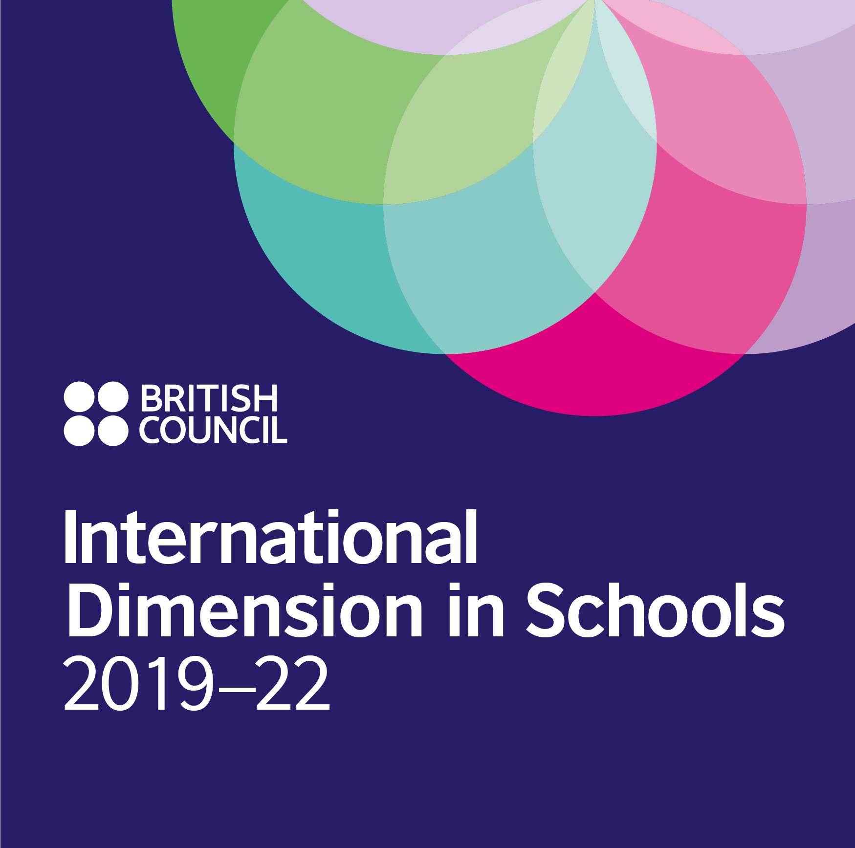 Awarded the INTERNATIONAL DIMENSIONS IN SCHOOLS by the British Council